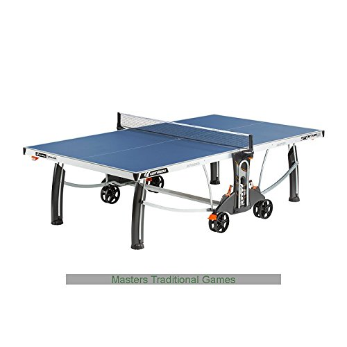 Cornilleau 500m crossover indoor outdoor blue table tennis - Table ping pong decathlon outdoor 500 ...