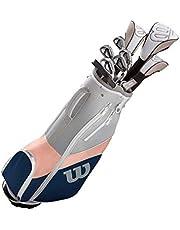 Wilson Ultra Damen Golf Komplettset & Carttasche 2019 Eisen Hölzer Driver Bag Graphit Schaft WGG157561