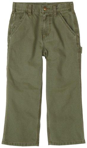 Carhartt Little Boys' Washed Dungaree Pant,Ivy - Carhartt Pants Boys