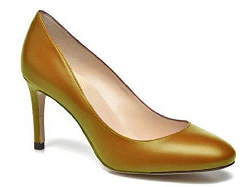 11sunshop Lederpumpenmodell Layla von HGilliane Design IM 33-44 Gold