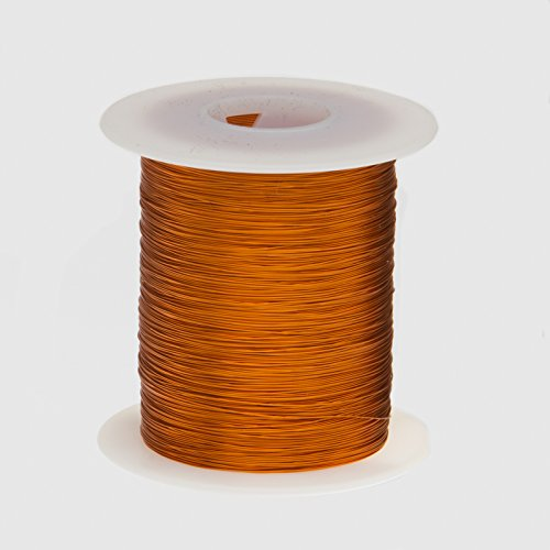 Remington Industries 24H200P.25 24 AWG Magnet Wire, Enameled Copper Wire, 200 Degree, 4 oz, 0.0220