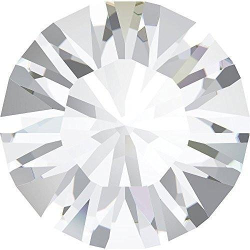 (1028 & 1088 Swarovski Chatons & Round Stones Crystal Unfoiled | PP11 (1.75mm) - Pack of 100 | Small & Wholesale Packs)