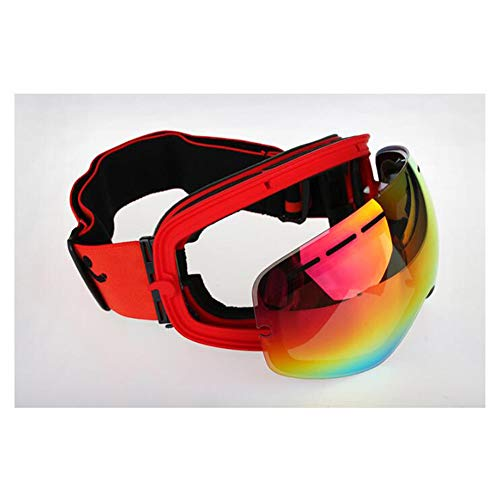 b3a1d1e48d54 He-yanjing Ski Goggles , Anti-Fog UV Protection Skiing Goggles  ,Snowboarding Goggle