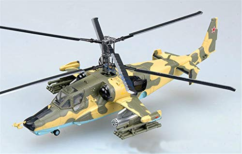 Easy Model Russian Air Force kamov Ka-50 Black Shark Attack Helicopter No21 1/72