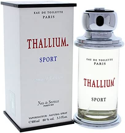 Thallium Sport Limited Edition for Men by Yves De Sistelle 3.3 oz EDT SP