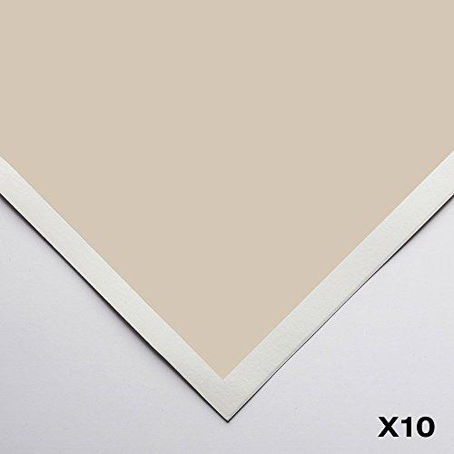 Art Spectrum : Colourfix Smooth : Pastel Paper : 50x70cm : Australian Grey : Pack of 10 by Art Spectrum