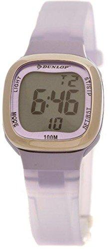 Dunlop Reloj Digital para Mujer de Automático con Correa en Resina DUN-55-L09: Amazon.es: Relojes