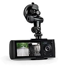 Pyle PLDVRCAMG36 Dual Camera Dash Cam System, DVR Driving HD 1080P Camera