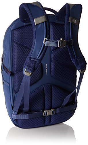 The North Face Women's Women's Borealis Coastal Fjord Blue/Feather Orange Backpack [並行輸入品] B07F4BZYJH
