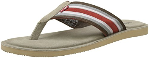 Levis Pardee FF, Chanclas Para Hombre Multicolor (Dull Orange)