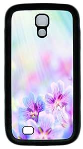 Samsung Galaxy S4 I9500 Cases & Covers -Sun flower Custom TPU Soft Case Cover Protector for Samsung Galaxy S4 I9500šCBlack