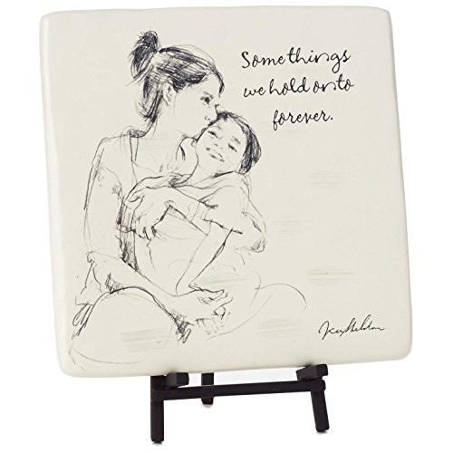 Hold-Onto-Forever-Mother-and-Child-Decorative-Tile-with-Easel-Decorative-Accessories-Family