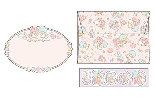 Sanrio Characters Letter Set Genuine Twin Little Stars Kitty For sale Japan only