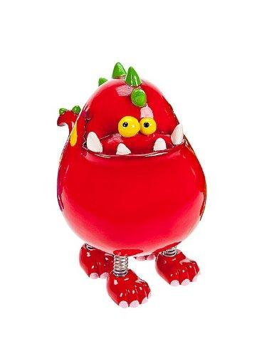 Huchas infantiles con forma de dinosaurio rojo para niños y niñas Mousehouse Gifts MH-100333 Dinosaurios