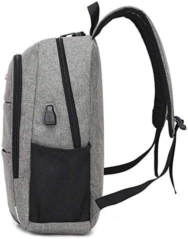 HDHUA Laptop Bag Men Waterproof Nylon Shoulder Bag Computer Backpack Schoolbag