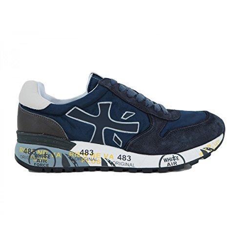 PREMIATA Herren Sneaker Blau Dunkelblau