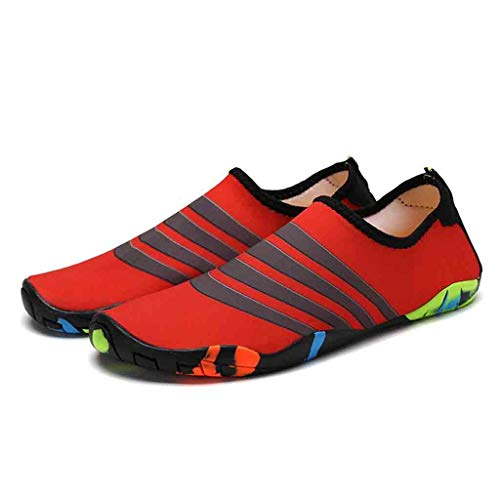 - Mens Womens Water Sports Shoes Quick Dry Aqua Socks Barefoot Yoga Socks for Diving Swim Surf Aqua Walking Beach Yoga