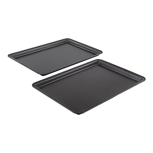 - Baker's Secret Essentials 2 Piece Medium Cookie Sheet Value Pack 3-Pack