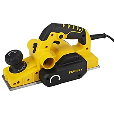 STANLEY STPP7502 750W 2mm Planer (Yellow and Black) with 2 TCT blades 8