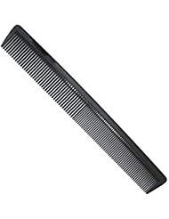 """AFT90 Carbon Fiber Cutting Comb, Professional 8.15"""" Styling Comb, Anti Static Heat Resistant Hairdressing Comb For All Hair Types, Fine and Wide Tooth Hair Barber Comb"""