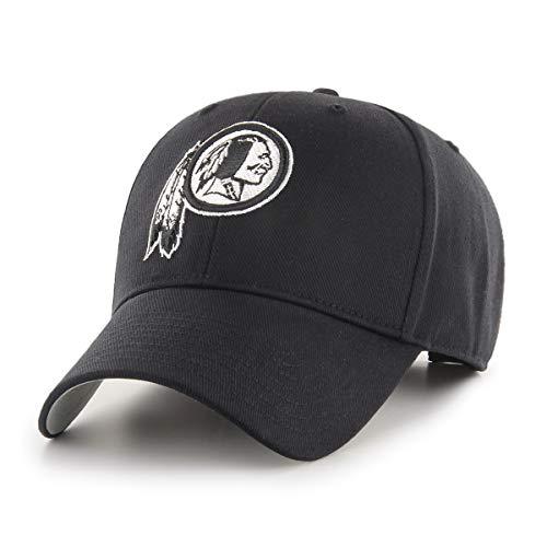 - OTS NFL Washington Redskins All-Star Adjustable Hat, Black & White, One Size