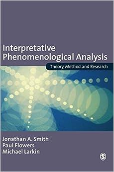 Interpretative Phenomenological Analysis: Understanding Method and Application