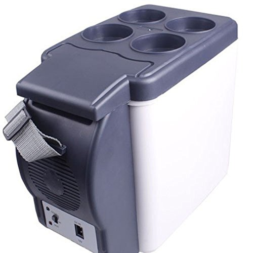 SL&BX Mini Kühlteil,Car Refrigerator Cooler Mini Refrigerator Car Mini Fridge Portable Refrigerator And Freezer by SL&BX (Image #1)'