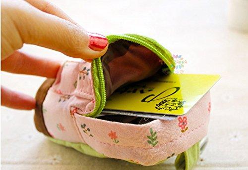 Beige monnaie Femme Cartable Fille Décoration Porte Fleur 12x9cm Mini Bigood Sac Fvwqnpx5