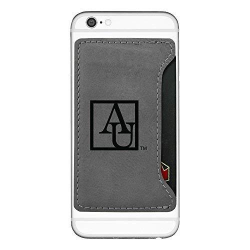 American University-Cell Phone Card Holder-Grey