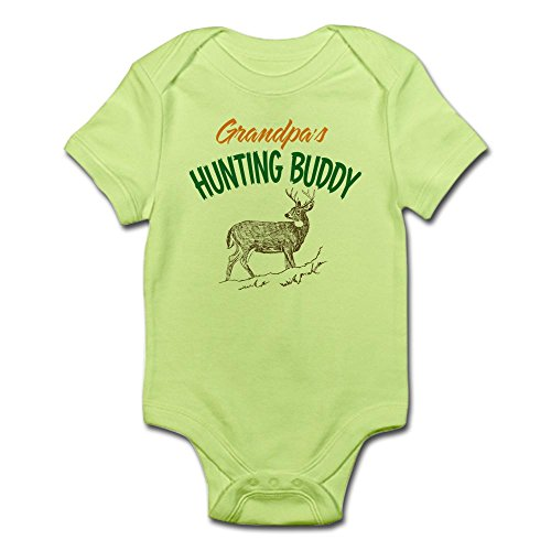 CafePress Grandpas Hunting Infant Bodysuit