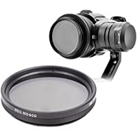 Drone Fans ZENMUSE X5 Camera ND Filter Fader Variable ND Filter Dimmer Adjustable ND2-400 Filter for DJI Inspire OSMO X5 Camera
