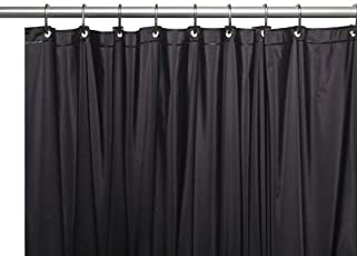 Carnation Home Fashions 3 Gauge Vinyl Shower Curtain Liner With Metal Grommets