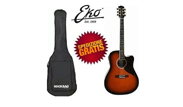EKO Ranger CW EQ Sunburst guitarra acústica electrificada con ...