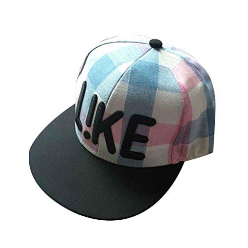 Bobury Brodé LiKE treillis plat Bill Snapback Peaked chapeau casquette de baseball réglable