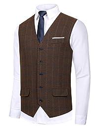 Hanayome Men's Gentleman Top Design Casual Waistcoat Business Suit Vest VS17