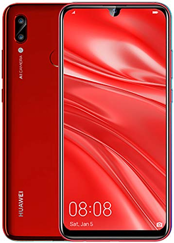 HUAWEI P Smart 2019 Pot-LX3 32GB Unlocked GSM 4G LTE Dual Camera (13MP+2MP) Phone - Coral Red …