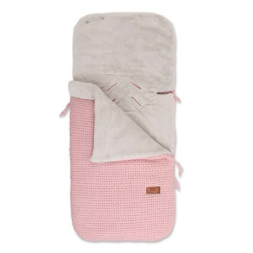 Baby's Only Robust 163312 Foot Muff for Use in Carry Cots / Car Seats / Buggies Knitted Corn-Coloured by Baby's Only