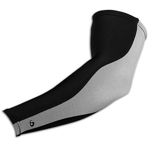 (Phiten Titanium Power Sleeve X30, Black, Large )