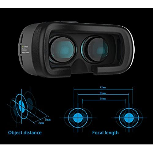 hot sale 3D Virtual Reality VR Glasses Box 2 Headset Helmet For iPhone Samsung Galaxy S6