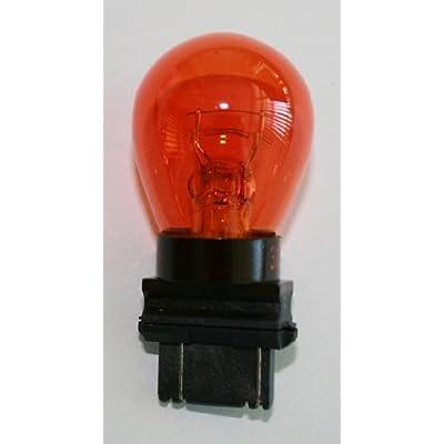 3157A (Amber) Bulb Auto Bulb Automotive Bulb - Pack of 10: Automotive