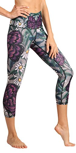 - Yoga Democracy Eco-Friendly Daisy Days Leggings (Crops) (S)