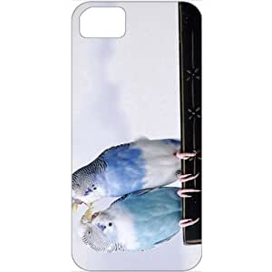 DIY Case For Iphone 6 Plus 5.5 Inch Cover Customized Gifts Personalized With Animals cantankerous parakeets Animals Birds White...
