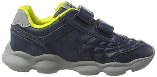 Geox J Munfrey B, Zapatillas Para Niños Azul (Navy/grey)