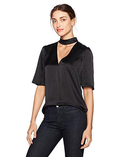Paige Women's Cateline Top, Black, - Women Designers Top For