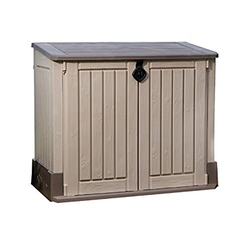 Keter Store It Out MIDI 4.3 X 2.5 Outdoor Resin Horizontal Storage Shed