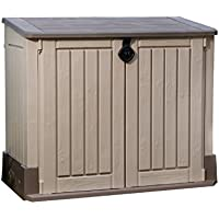 Keter Woodland 30 cu. ft. Storage Shed (Taupe)