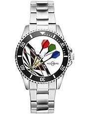 Geschenk für Dart Darts Dartspieler Fan Uhr 2003
