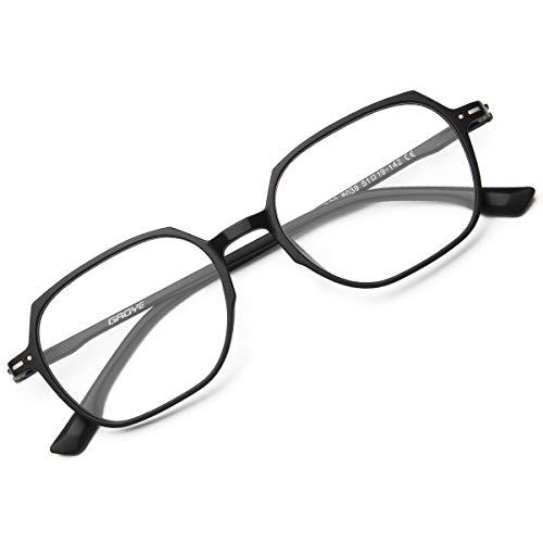 GAOYE Blue Light Blocking Computer Glasses Women Men TR90 Lightweight Frame Anti Eyestrain UV Lens GY8039