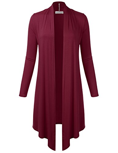 FLORIA Womens Lightweight Sleeve Cardigan product image