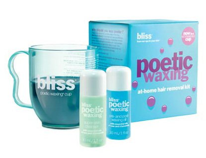 Price comparison product image Bliss Poetic Waxing Hair Removal Kit | No-Strip Wax | Straight-from-the-Spa | Safe, Low-Temp, Microwaveable | Paraben Free, Cruelty Free | 5.3 fl oz